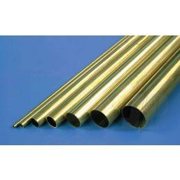 Albion Alloys Brass Tubes 305mm Length - 5 x 0.45 x 4.1mm