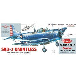 Guillows Douglas SBD-3 Dauntless Balsa Kit