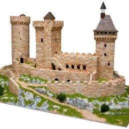 Aedes Ars Foix Castle Architectural Brick Model Kit