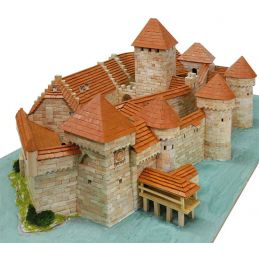 Aedes Ars Chillon Castle Architectural Model Kit