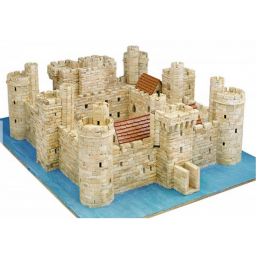 Aedes Ars Bodiam Castle Model Kit Architectural Model Kit