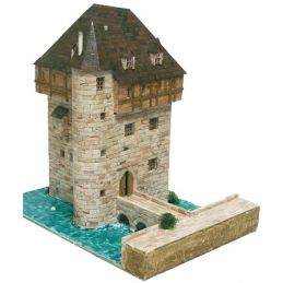 Aedes Ars Belgian Crupet Castle Model Brick Kit