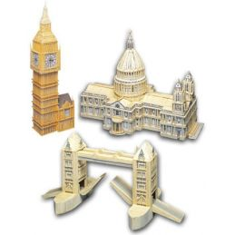 Match Craft London Pack Matchstick Kits