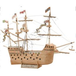 Match Craft The Mary Rose Matchstick Construction Model Kit