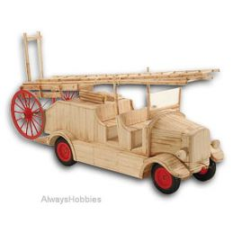 Match Craft Fire Engine circa 1930 Matchstick Kit