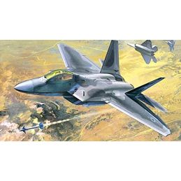 Academy 1/48 F-22A Raptor Air Dominance Fighter Plastic Model Kit