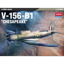 Academy V-156-B1 Chesapeake 1/48th Plastic Kit