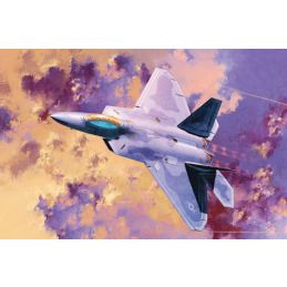 Academy 1/72 F-22A Raptor Air Dominance Fighter Plastic Model Kit