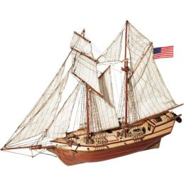 Occre Albatros Schooner 1:100 Scale Model Boat Display Kit