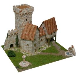 Aedes Ars Medieval Tower Architectural Model Kit