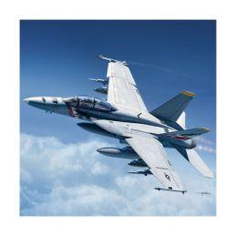 "Academy 1/72 USN F/A-18F "" VFA-2 Bounty Hunters"" Plastic Model Kit"