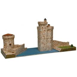 Aedes Ars La Rochelle Harbour Towers Architectural Model Kit