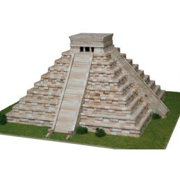Aedes Ars Kukulcan Temple Architectural Model Kit