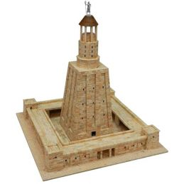 Aedes Ars Alexandria Lighthouse Architectural Model Kit - 5500 Pieces