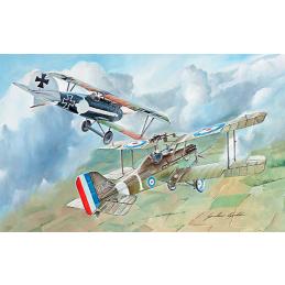 Italeri RAF SE-5 and Albatros D.III Combo Set 1:72 Scale Model Plane Kit