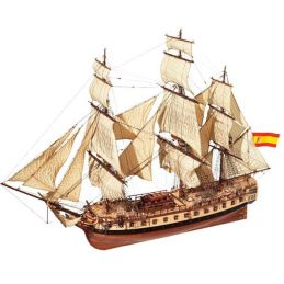 Occre Diana Frigate 1:85 Scale Model Ship Display Kit