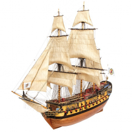Occre Nuestra Señóra del Pilar Wood and Metal Model Boat 1:46 Scale Ship Kit