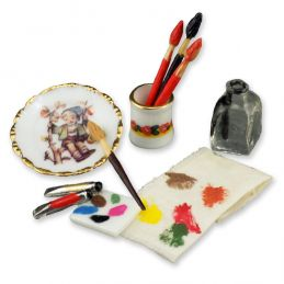 Reutter Porcelain Artists Painting Utensils