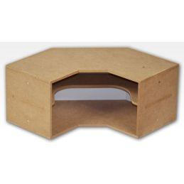 Hobbyzone Corner Shelves Module Crafts Workshop Modular System