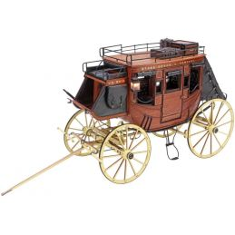 Artesania Latina 1848 Stage Coach 1:10 Scale Museum Quality Model 20340