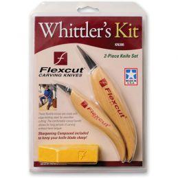Flexcut Whittler's Kit 2 Piece Carving Knife Set KN300