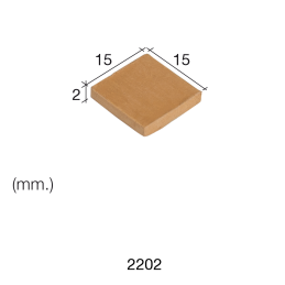 Aedes Ars Red Tile 15 x 15 x 2 (Pack of 150 Tiles)