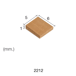 Aedes Ars Small Red Tile 5 x 6 x 1 (Pack of 300 Tiles)
