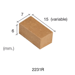 Aedes Ars Large Red Wall Stone 7 x 15 x 6 (Pack of 200 Stones)