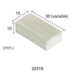 Aedes Ars Extra Large Mottled Wall Stone 15 x 30 x 10 (Pack of 100 Stones)