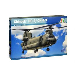 Italeri Chinook HC.2 CH-47F Helicopter Kit