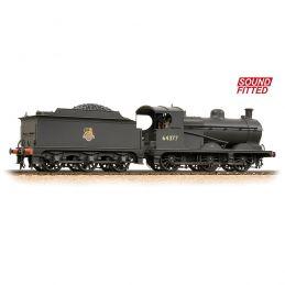 Robinson Class J11 (GCR 9J) 64377 BR Early Emblem - DCC Sound & Weathered