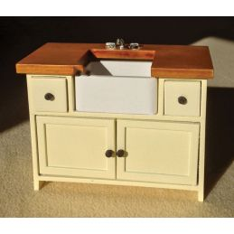 Cream Shaker Style Sink Unit