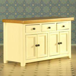 Cream Shaker Style Sideboard