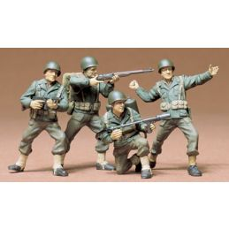 Tamiya US Army Infantry 1:35 Scale Plastic Figures