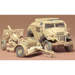 Tamiya British 25PDR Field Gun and Quad Gun Tractor Kit