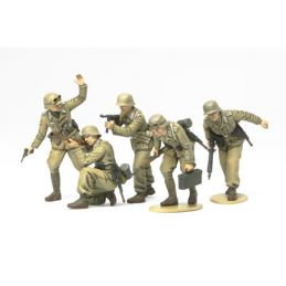 Tamiya WWII German Africa Corps Infantry Set 1:35th Scale Plastic Models