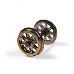 Branchline  Metal Split Spoked Wagon Wheels (x10) 36-028