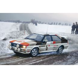Italeri Audi Quattro 1/24th Scale Rally Car Kit
