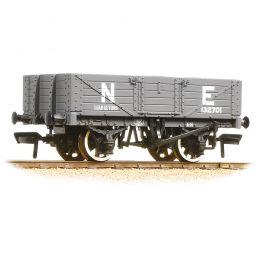 Branchline 5 Plank Wagon Wooden Floor NE Grey 37-069