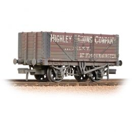 Branchline 7 Plank End Door Wagon 'Highley Mining Company Ltd' Weathered 37-093