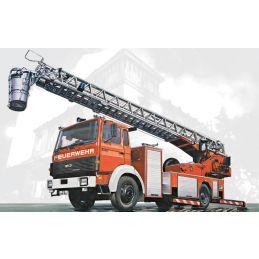 Italeri Iveco Magirus DLK26-12 Fire Ladder Truck - Starter Paint Pack (6)