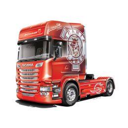 Italeri Scania R730 Streamline 'Team Chimera' Truck Model Kit - Italeri Scania R730 Streamline