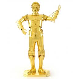 Star Wars C-3PO Metal Earth 3D Model Kit
