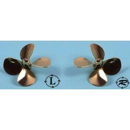 Raboesch 4 Blade Brass Propellers