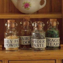 Witches Potions Apothecary 1 12 Scale for Dolls House