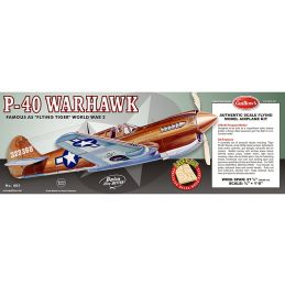 Guillows P-40 Warhawk Model Kit