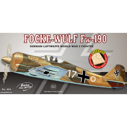 Guillow Focke Wulf Fw190 Balsa Aircraft Kit