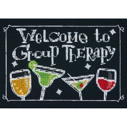 Cross Stitch - Group Therapy
