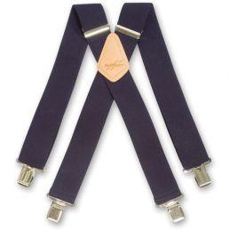 Brimarc Plain Colour Braces - Black Braces