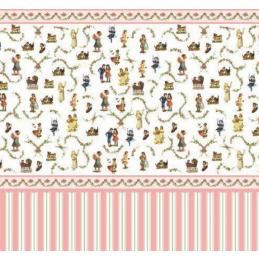 Victorian Nursery Wallpaper 1 12 Scale Dolls House